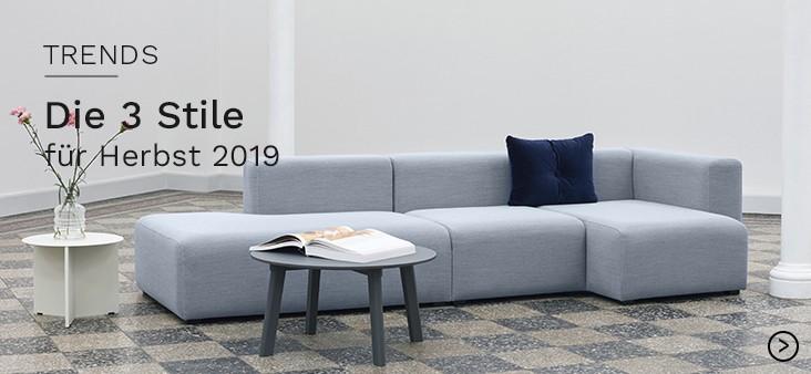 Tends: Die drei Stile für Herbst 2019