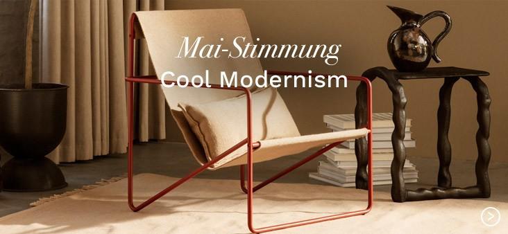 Mai-Stimmung: Cool Modernism