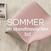 Sommer im skandinavischen stil
