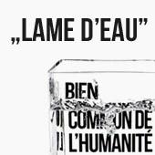 Die stiftung france libertés Philippe starck & made in design éditions Präsentieren : Lame d'Eau