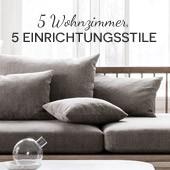 5 Wohnzimmer, 5 Einrichtungsstile - Herbstanfang 2015
